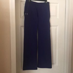 Under Armour youth medium fleece lined pants.